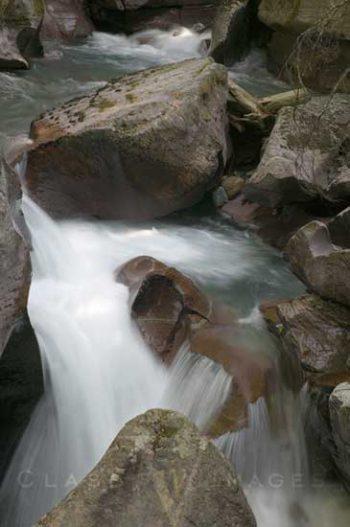 Avalanche Creek Closeup