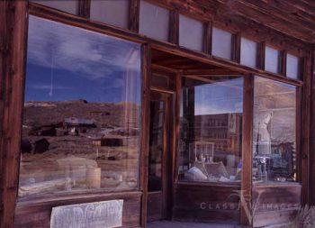 Bodie Window Reflection