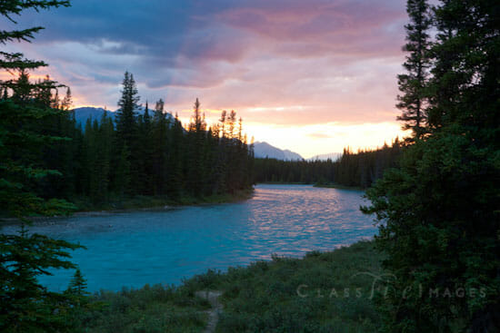 Bow River Sunset 550