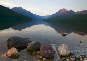 Bowman Lake Sunset
