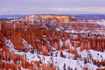 Bryce Winter Sunset