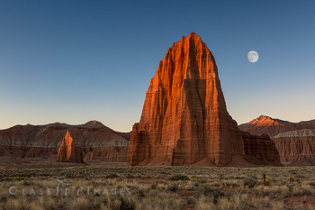 Capitol Reef – Temple Of The Sun