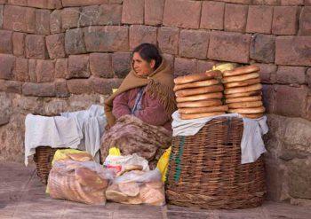Cusco Bread Lady