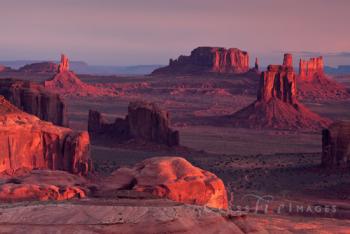 Hunts Mesa Sunrise Glow