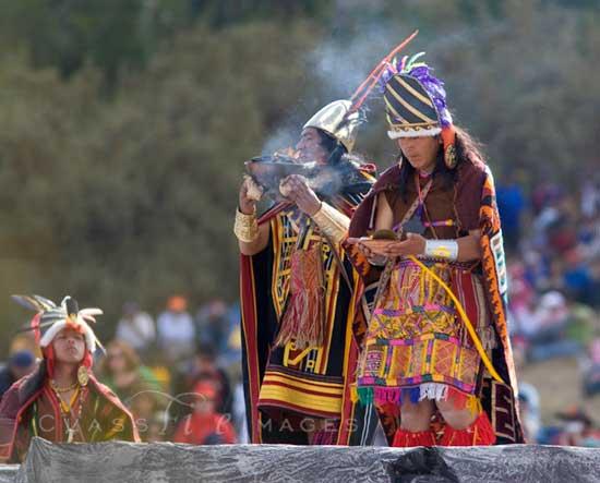 Inti Raymi Fire Ceremony 550