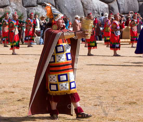 Inti Raymi High Priest 550