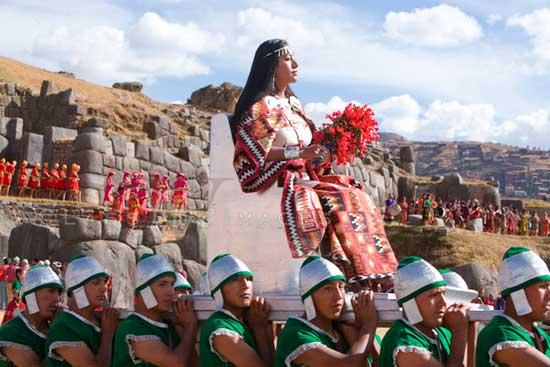 Inti Raymi Inca Queen 550