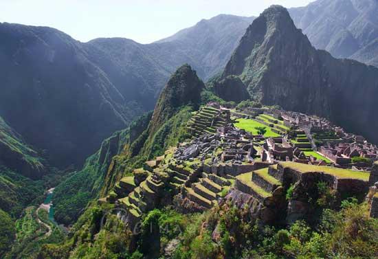 Machu Picchu Terraces 550