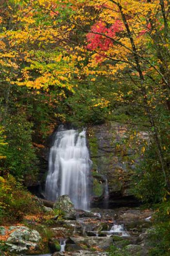 Meigs Falls Fall Color