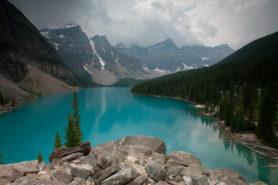 Moraine Lake View 550