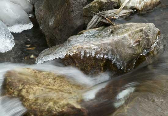 Provo Creek At Sundance