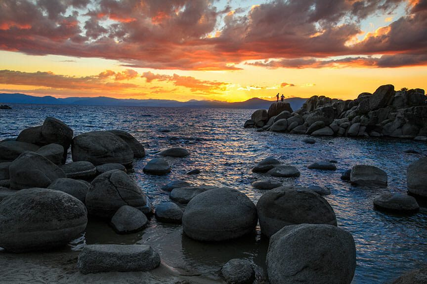 Sand Harbor Sunset 1
