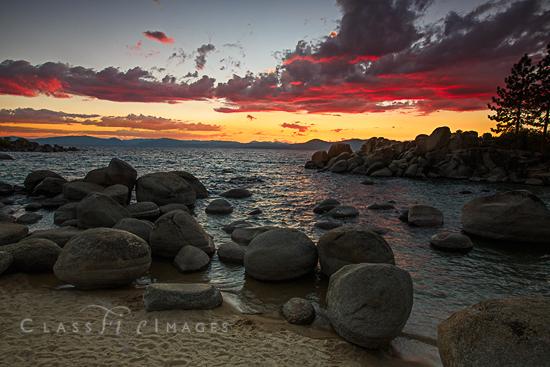 Sand Harbor Sunset 2 550
