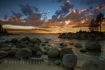 Sand Harbor Sunset Three