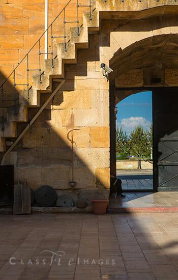 Turkey 149 Dervish Courtyard 550