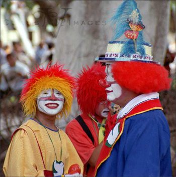 Clowns In The Zocalo
