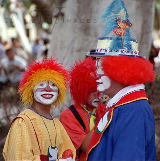 Clowns In Zocolo