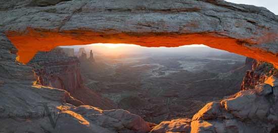 Mesa Arch Pano