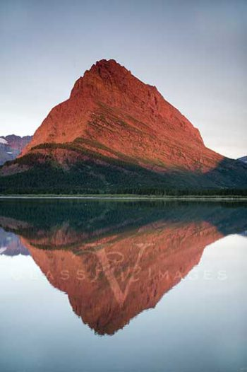 Sunrise At Swiftcurrent Lake