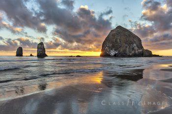 Canon Beach Sunset – 2