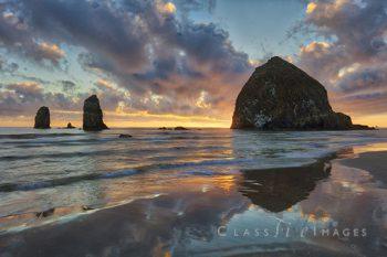 Canon Beach Sunset 1
